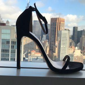 Stuart Weitzman nudist Sandals. These won't last!